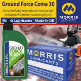 Morris Ground Force Croma 30 Chain & Cutter Bar Oil, balení 12x1l
