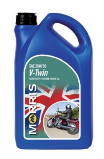 Morris V-TWIN 20W-50 - motorcycle 4-Stroke Oil, 5l