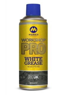 Morris WSP White Spray Grease - bílá vazelína ve spreji, 400ml